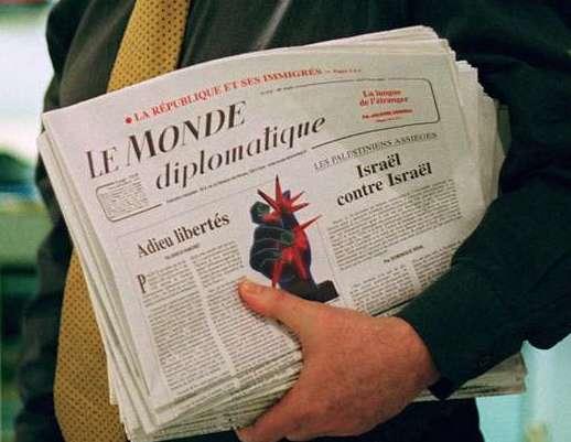 Viré du Monde Diplomatique pour avoir écrit le mot «Israël»