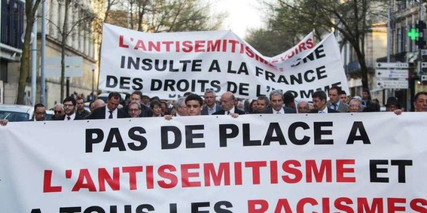 Le Top des phrases répétées pendant la manifestation contre l'antisémitisme