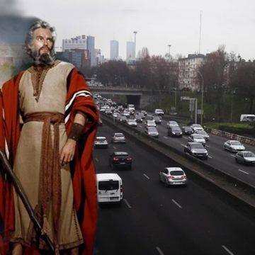 Exode des Juifs de banlieue: Moïse écarte les bouchons pour traverser le périph'