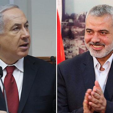Elections: Netanyahu formerait une coalition avec le Hamas, plutôt qu'avec Bleu-Blanc