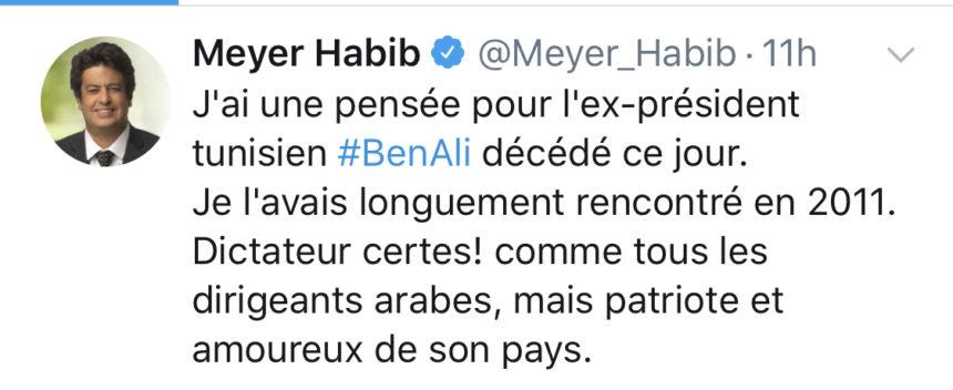 Meyer Habib écrira directement les articles le concernant pour le Gorafeuj