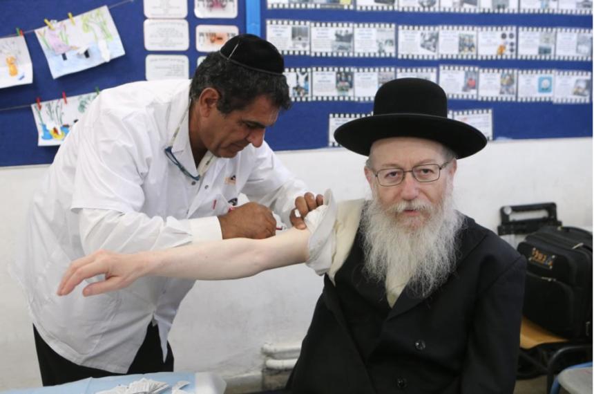 50% de chance d'éviter le coronavirus en ne serrant pas la main des femmes selon le ministre de la santé israélien