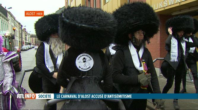 Pour Pourim, des Juifs se déguisent en Belges nazis d'Alost déguisés en Juifs