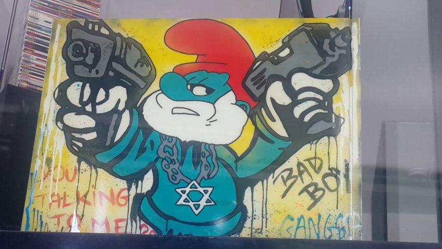 Zemmour : «Les couleurs du drapeau israélien, c'est comme par hasard, celles des Schtroumpfs.»
