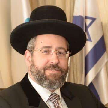 Le grand rabbin d'Israël : «On aurait dû mettre un copyright sur l'idée du Dieu unique»