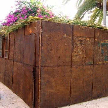 Soukkot : l'ONU dénonce la construction des cabanes comme étant des implantations illégales