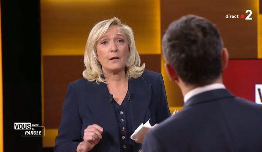 Marine Le Pen : «Contre l'islamisme, les Juifs devront aussi manger du porc, en plus de retirer la kippa»