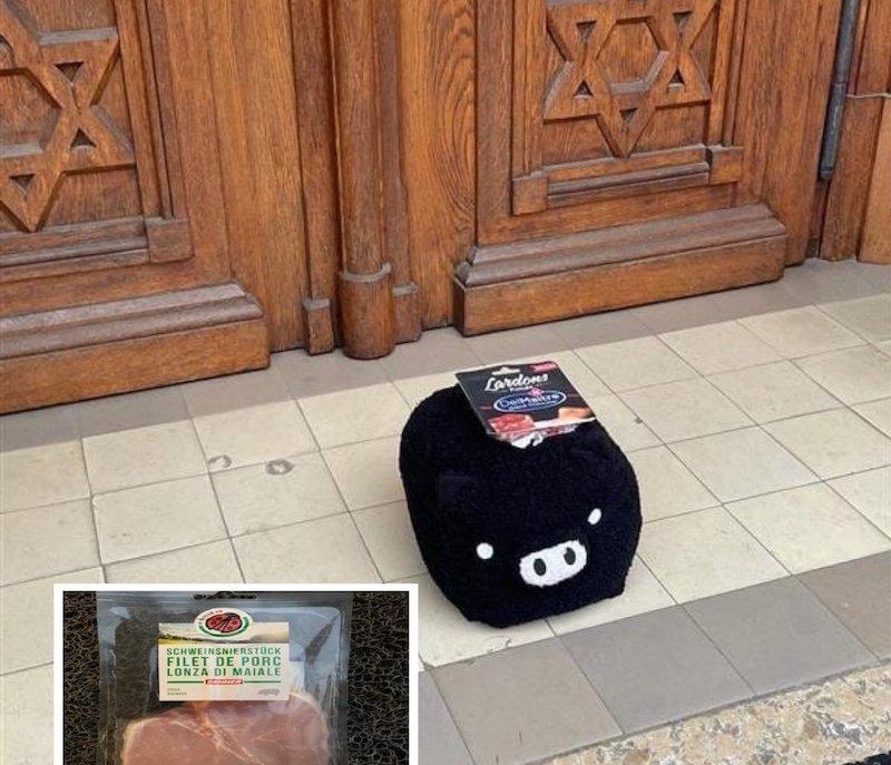 Du porc déposé devant une synagogue libérale : le rabbin remercie le généreux donateur anonyme