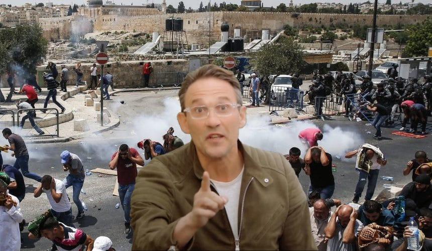 Julien Courbet appelé pour résoudre le conflit de voisinage judéo-arabe à Jérusalem