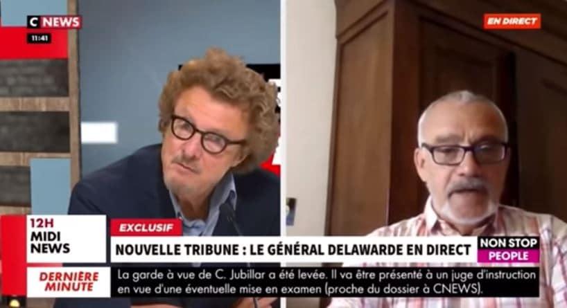 CNews : Morandini mis à pied pour avoir empêché le général Delawarde de s'exprimer librement
