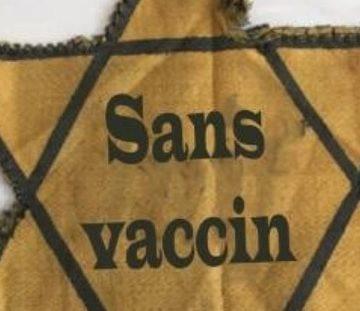 Les Nazis accusent les antivax d'appropriation culturelle en usant de l'étoile jaune